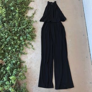 BB Dakota One on One Halter Wide Leg Jumpsuit